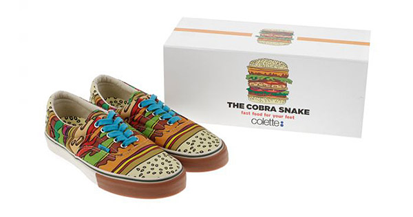 The CobraSnake x Vans x Colette