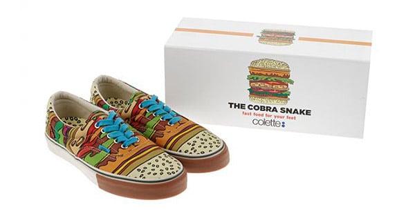 The CobraSnake x Vans x Colette