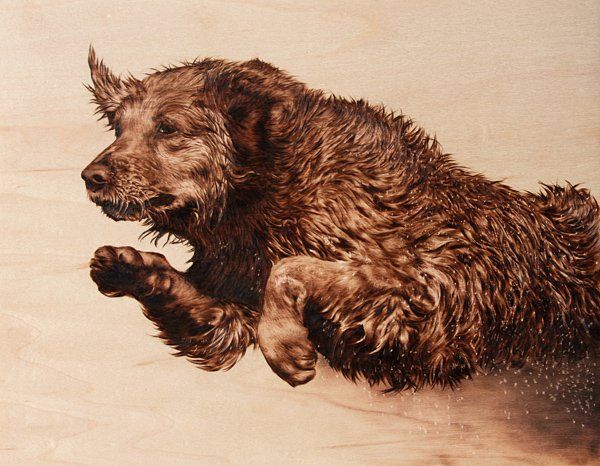 Julie Bender's Pyrography