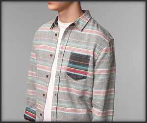 Abel Brown Serape Shirt