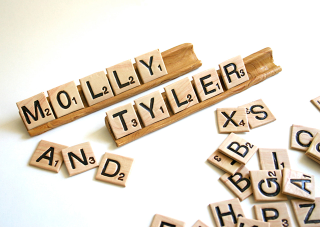 Edible Scrabble Tiles