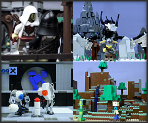LEGO Video Game Montage