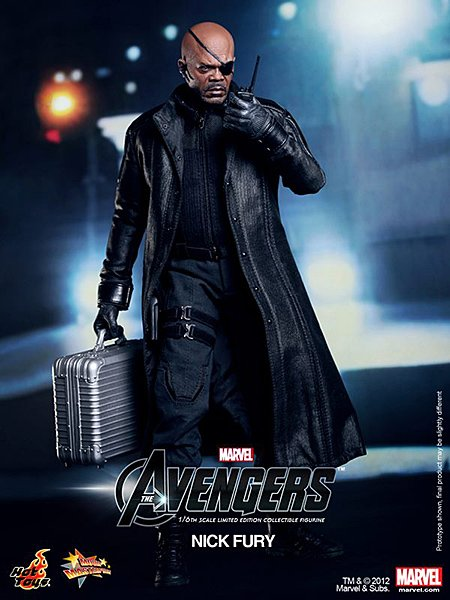 Nick Fury Action Figure