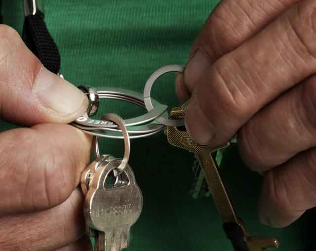 Freekey Key Ring