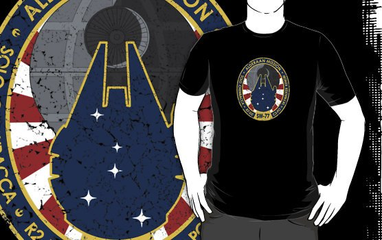 Alderaan Mission Patch Tee