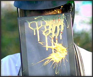 Thinkpad Tablet vs. Paintballs