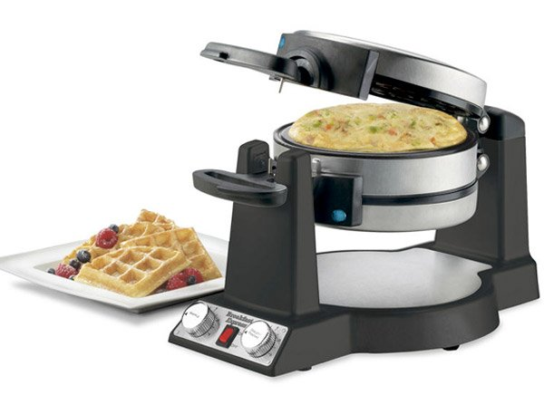 2-in-1 Waffle/Omelet Maker