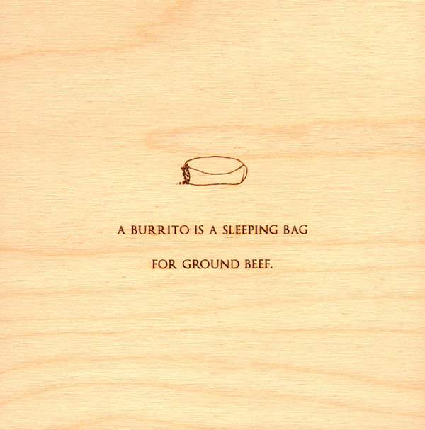 Mitch Hedberg Wood Etchings