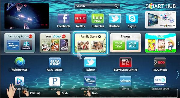 Samsung ES8000 LED HDTV