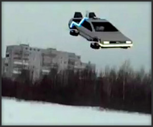 BTTF DeLorean Quadrotor