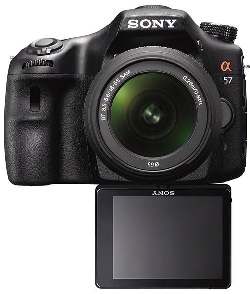 Sony Alpha α57 DSLR