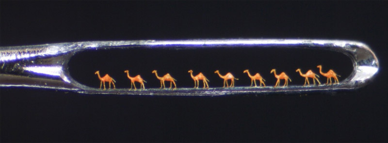 Needle Micro Sculptures