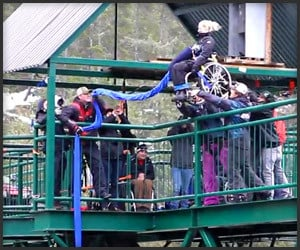 Wheelchair Bungee Jump