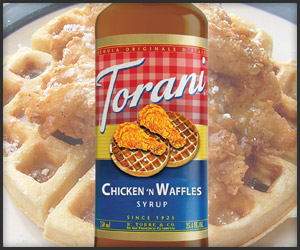 Chicken N' Waffles Syrup