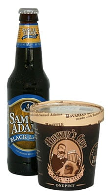 Beer-Infused Ice Cream