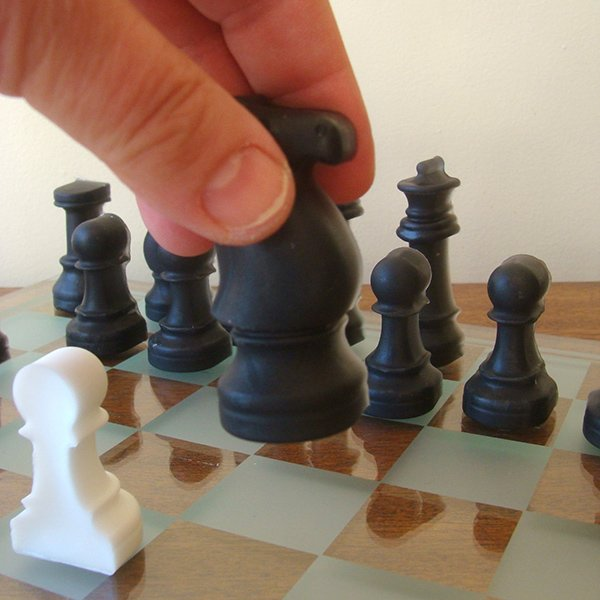 Chess Set Soap