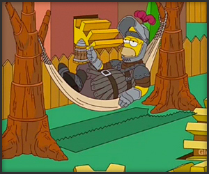 The Simpsons x Game of Thrones