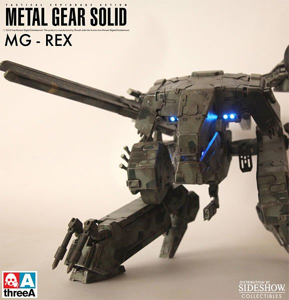 MGS Rex Collectible Figure