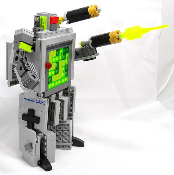 LEGO Game Boy Transformers