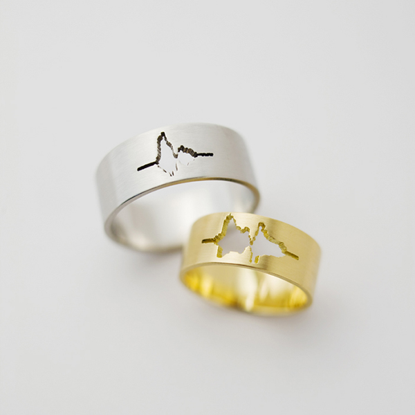Waveform Wedding Ring The Awesomer