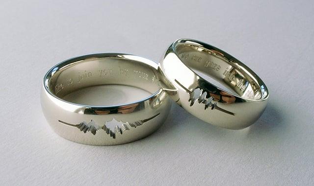 34 Unique Hipster Wedding Rings Idea