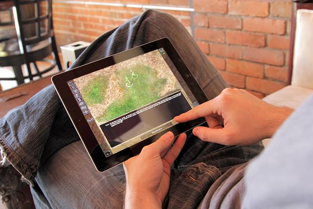 Baldur's Gate Enhanced for iPad
