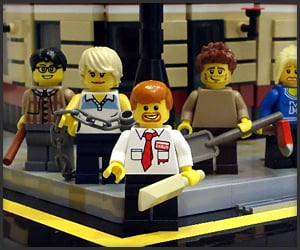 LEGO Shaun of the Dead