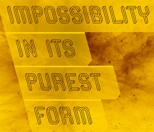 The Impossible Typeface