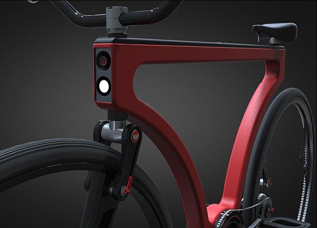 Twist Tandem Bike Concept
