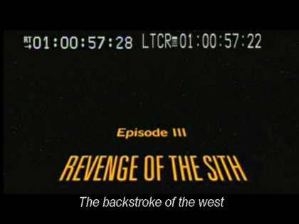 Star Wars: Backstroke of the West