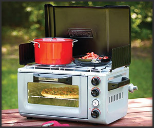 Coleman Outdoor Oven Stove