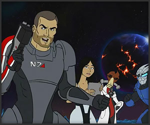 Mass Effect: 1980s Cartoon