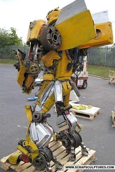Bumblebee Sculpture