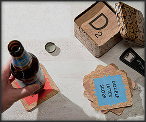 Scrabble Drink Coasters