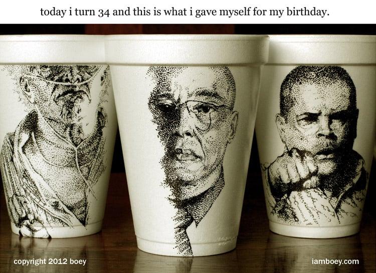 Breaking Bad Cup Art