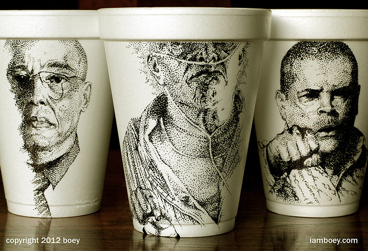 Breaking Bad Cup Art