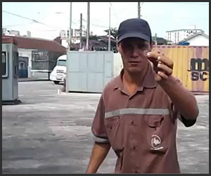 Forklift Coin Trick