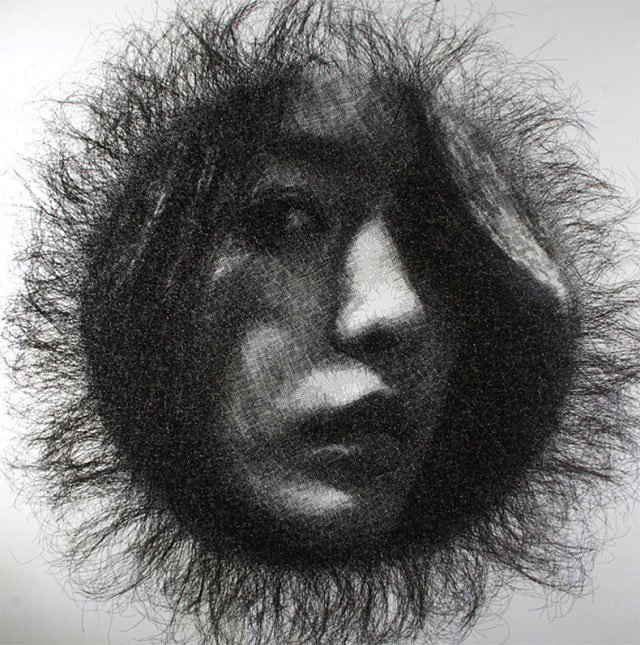 Mesh Wire Portraits