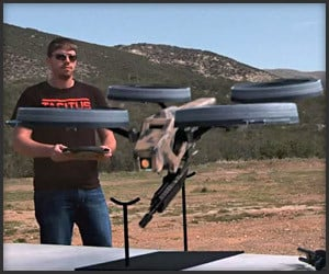Machine Gun Quadrotor