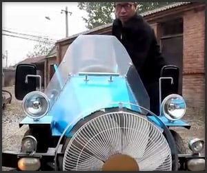 DIY Wind-Powered Car