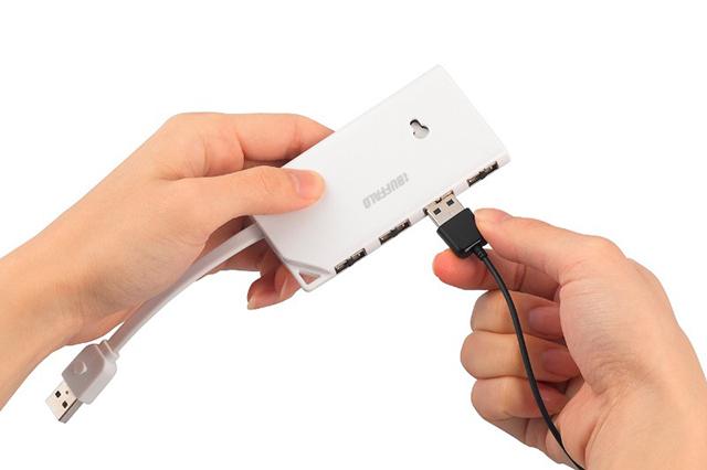 Both Sides USB Hub