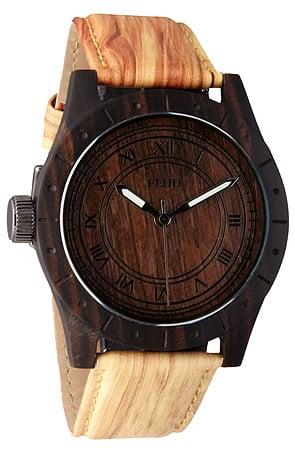 Flud Big Ben Oak Watch