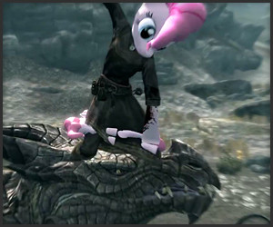 Pinkie Pie in Skyrim