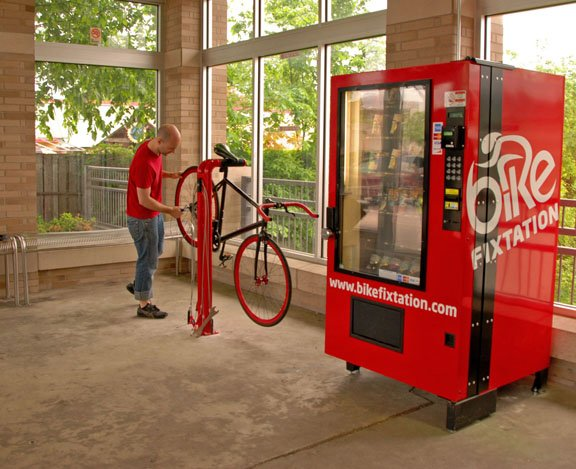 Bike Repair Vending Machine