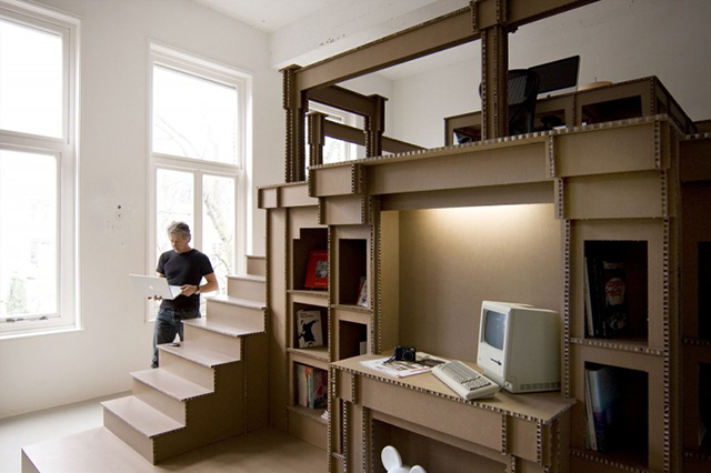 The Cardboard Office