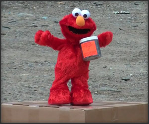 Elmo Loves Tannerite