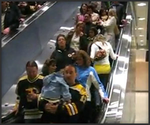 How Not to Ride the Escalator
