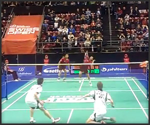 Insane Badminton Rally