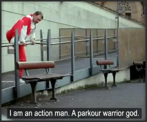 Parkour Warrior God