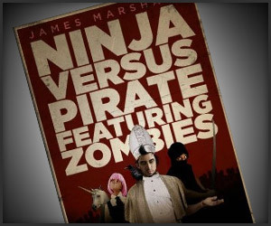 Ninja vs. Pirate Featuring Zombies